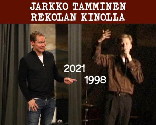 Kinolla -podcastin jakso 2, vieraana Jarkko Tamminen